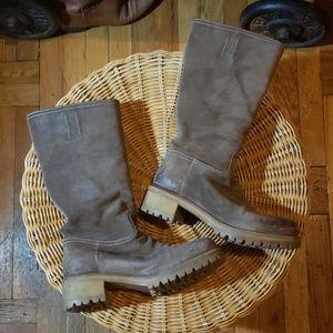 💯Prada Riding Moto Boots 37.5